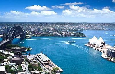Ferries pour l'Australie