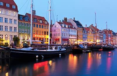 Ferries pour le Danemark