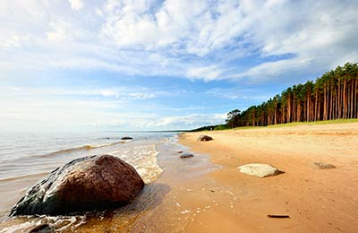 Ferries pour la Lettonie