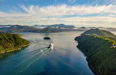 Votre Ferry avec Explore New Zealand