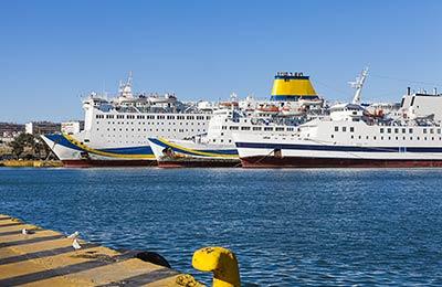 Traversée Ferry Syros - Evdilos
