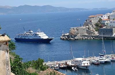 Traversée Ferry Methana - Poros