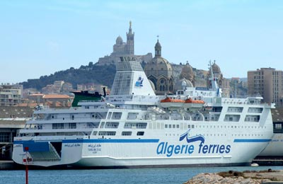 Algérie Ferries - ENTMV | Réservation, Horaires et Offres Ferry