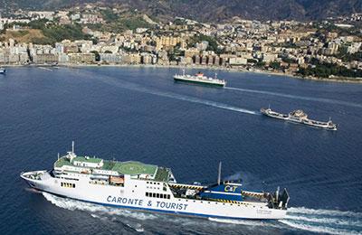 Ferry Salerne - Messine